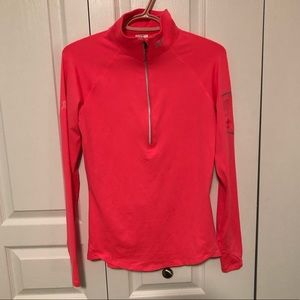 4/$40 UNDER ARMOUR Hot pink breast cancer top